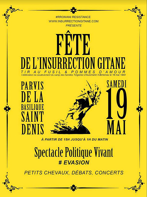 Saint-Denis : fête de l'insurrection gitane
