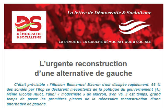 L'urgente reconstruction d'une alternative de gauche