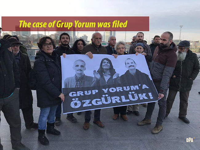 The case of Grup Yorum was filed