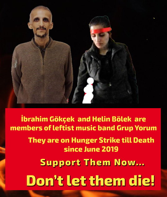 TURKEY HUNGER STRIKE: URGENT CALL TO SUPPORT
